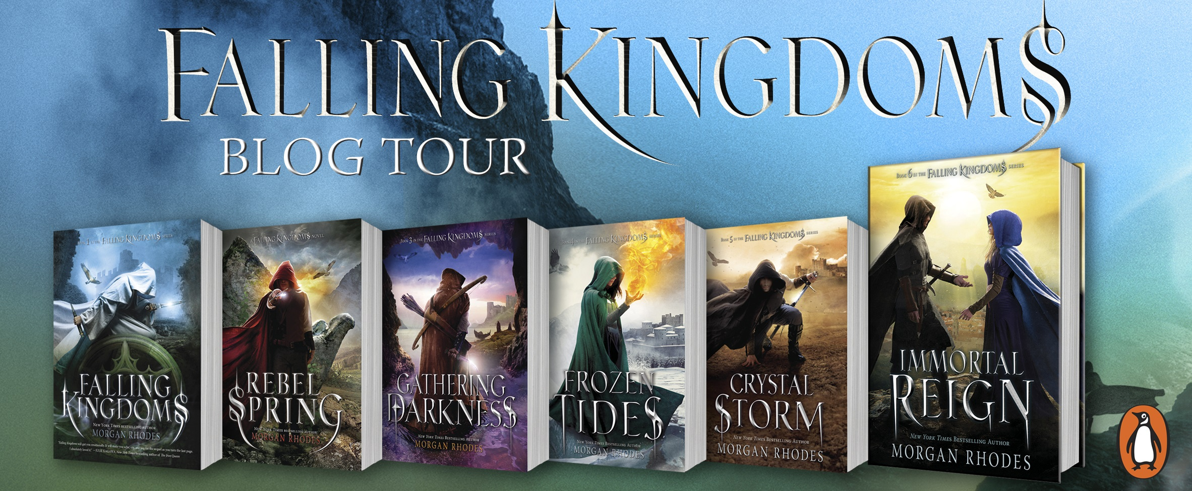 Blog Tour + Giveaway: Falling Kingdoms Series