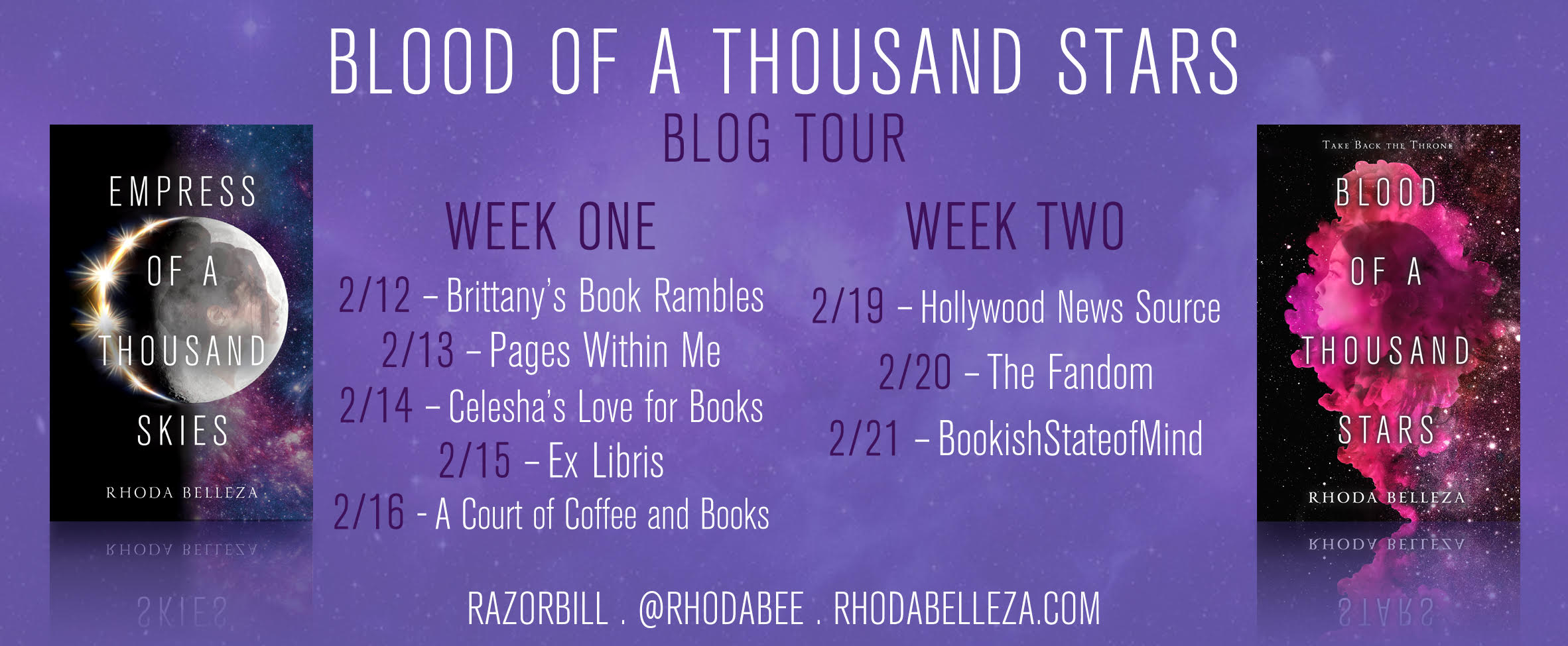 Blog Tour: Blood Of A Thousand Stars
